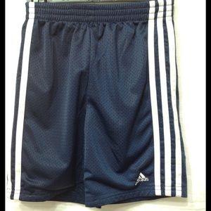Boy's size 5 ADIDAS mesh athletic shorts